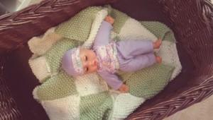 Babydecke Puppe